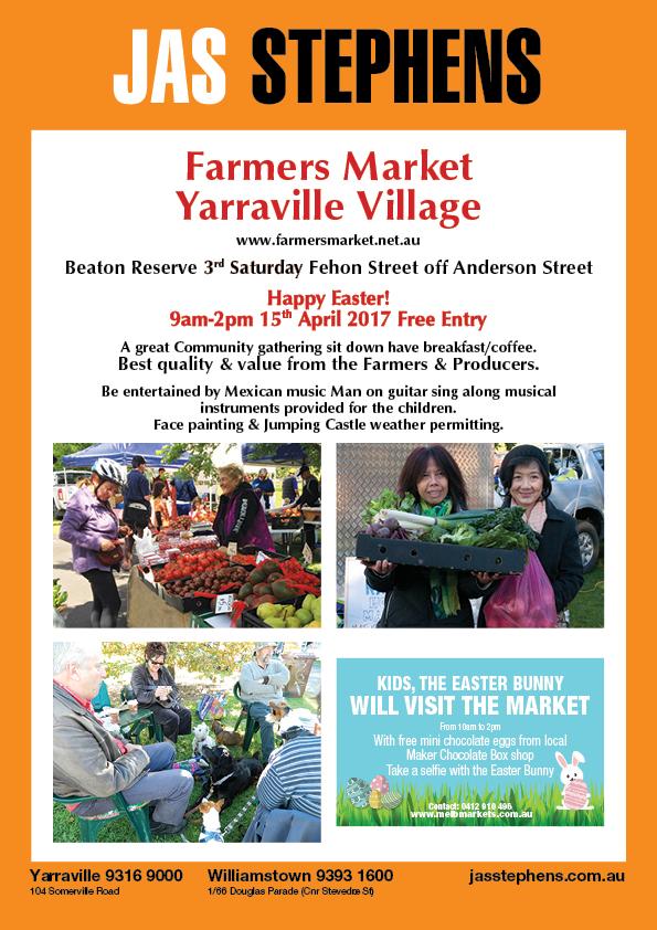 Yarraville Village Farmers Market JAS Stephens