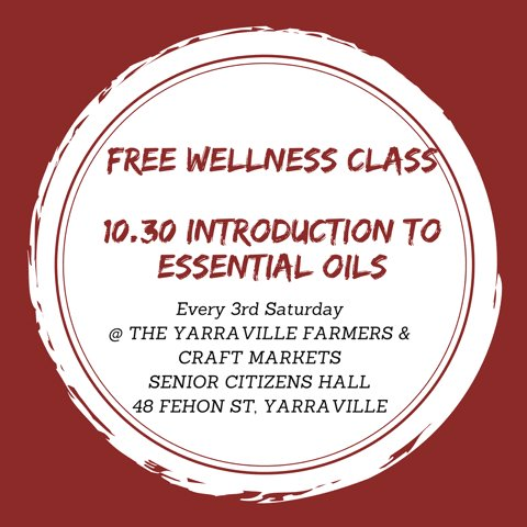 Wellness Class Free @ Yarraville Village Market